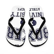 Boxer-University Flip Flops