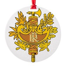French National Emblem Ornament