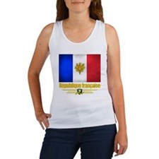 French Flag-Emblem (Flag 10) Women's Tank Top