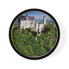 Neuschwanstein Castle Vertical Wall Clock