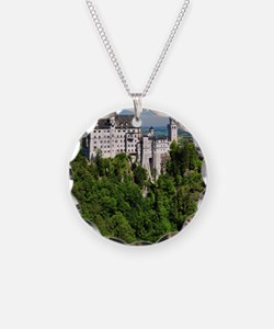 Neuschwanstein Castle Vertic Necklace