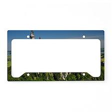 Neuschwanstein horizontal License Plate Holder