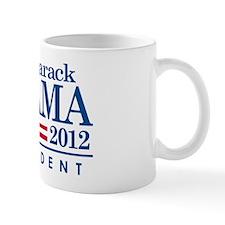 Obama 2012 White-Car Magnet Mug