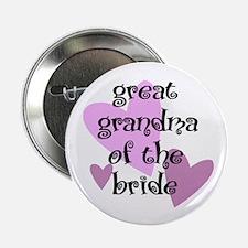 Great Grandma of the Bride Button