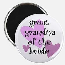 Great Grandma of the Bride Magnet