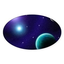 Blue Starscape Decal