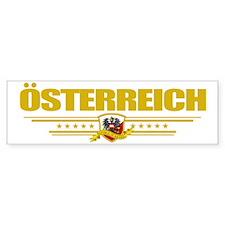 Austria (Flag 10) pocket Bumper Sticker