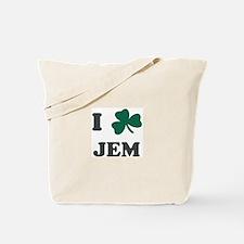 I Shamrock JEM Tote Bag