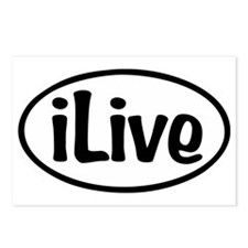 iLive Postcards (Package of 8)