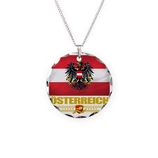 Austria (Flag 10) Necklace