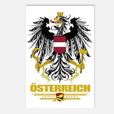 Austria COA (Flag 10) Postcards (Package of 8)