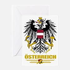 Austria COA (Flag 10) Greeting Card