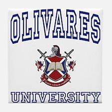 OLIVARES University Tile Coaster
