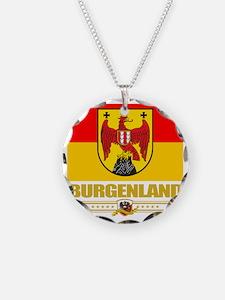 Burgenland (Flag 10) Necklace