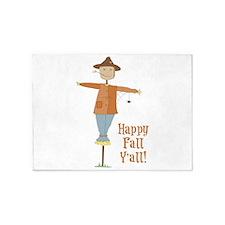 Happy Fall Yall! 5'x7'Area Rug