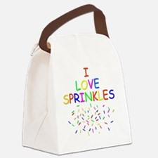 Sprinkles Canvas Lunch Bag