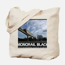 monorail black poster copy Tote Bag