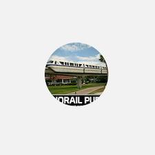 monorail PURPLE poster copy Mini Button