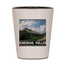 monorail YELLOW poster copy Shot Glass