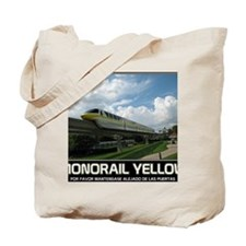 monorail YELLOW poster copy Tote Bag