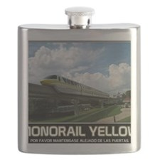 monorail YELLOW poster copy Flask