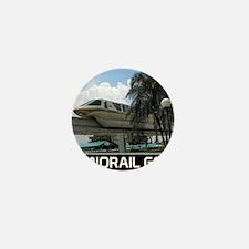 monorail gold poster copy Mini Button