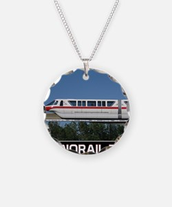 monorail RED poster copy Necklace