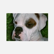 Cute Boxer Rectangle Magnet (10 pack)