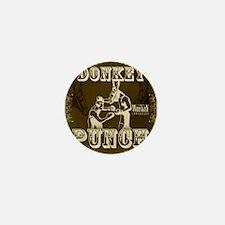 donkeypunch_dark Mini Button
