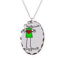 Stick Oh look Squiggles Necklace