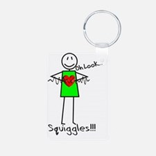 Stick Oh look Squiggles Keychains