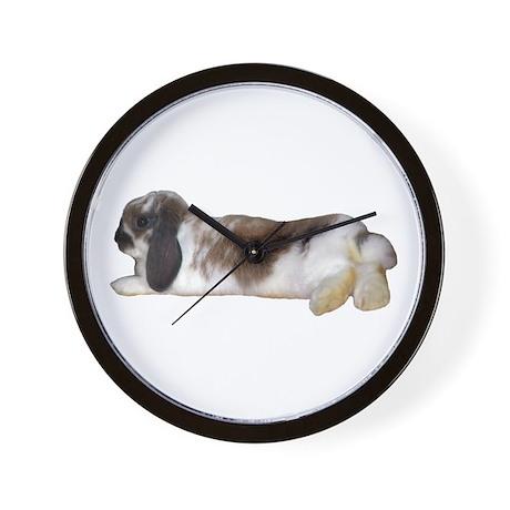 """Bunny 3"" Wall Clock"