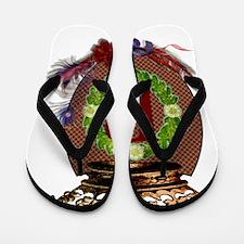 B-Crest Flip Flops