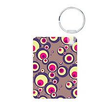 443 Purple Bubbles Keychains
