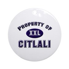 Property of citlali Ornament (Round)
