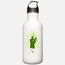 lowcountry shirt Sports Water Bottle