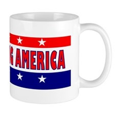 BumperStickerObamaDoingAmerica Mug