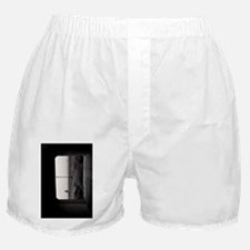 (9) Light at the End of the Tunnel BW Boxer Shorts
