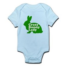 Crazy Bunny Lady Infant Bodysuit