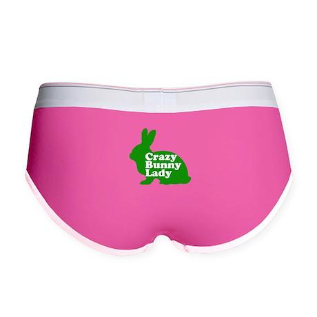 Crazy Bunny Lady Women's Boy Brief