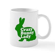 Crazy Bunny Lady Mug