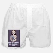 baby-jesus-CRD Boxer Shorts