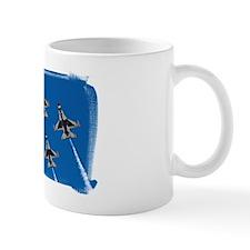 (16) Thunderbirds 4 Bird Side Mug