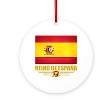 Spain (Flag 10) Round Ornament