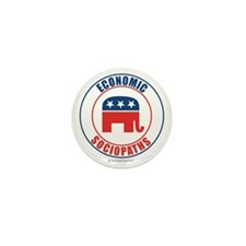 ECONOMIC SOCIOPATHS Mini Button