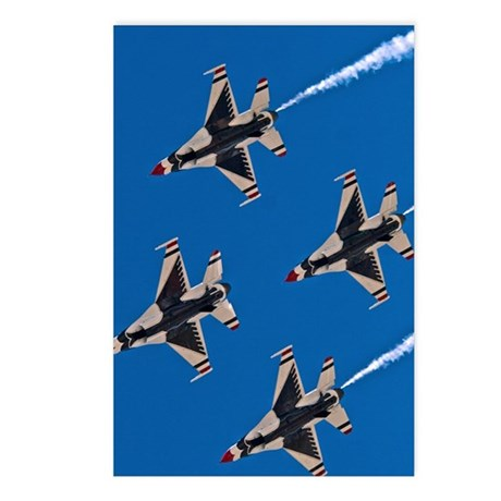 (13) Thunderbirds 4 Bird Postcards (Package of 8)