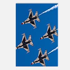 (13) Thunderbirds 4 Bird  Postcards (Package of 8)