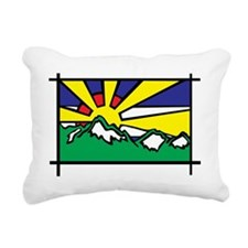 Colorado Sunshine Rectangular Canvas Pillow