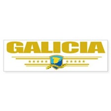 Galicia (Flag 10) pocket Bumper Sticker