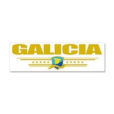 Galicia (Flag 10) pocket Car Magnet 10 x 3